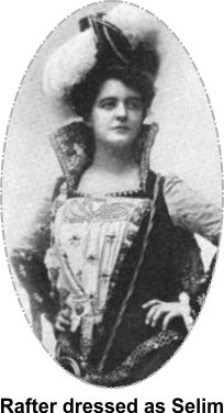 Adele Rafter in Selim costume