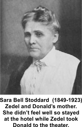 Sara Bell Stoddard lost two of her children at the Iroquois Theater