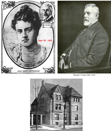 Emily Hutchinson was Richard Cranes third wife