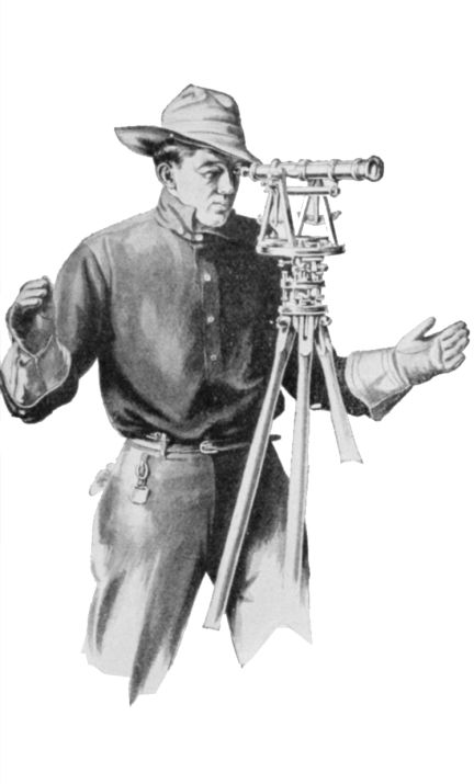 Clarence Blood was a railroad surveyor