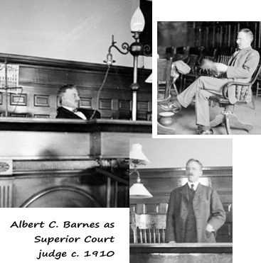 Albert Barnes assistant states attorney in Iroquois Theater trials