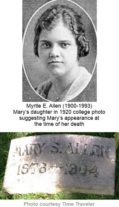 Mary Wenthe Allen Iroquois Theater victim
