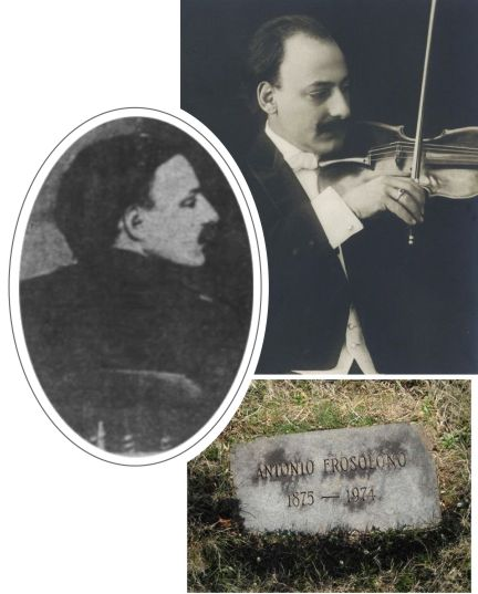 Antonio Frosolono was music director at Iroquois Theater