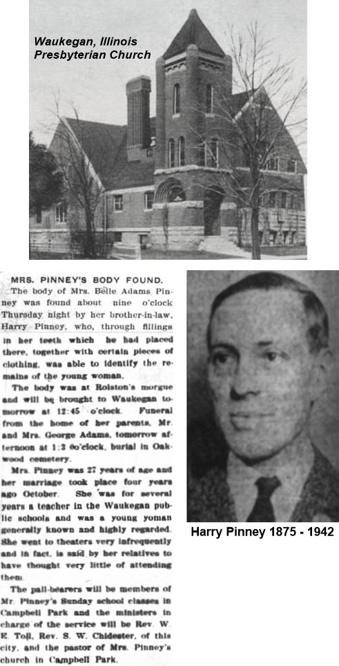 Belle Adams Pinney Iroquois Theater victim