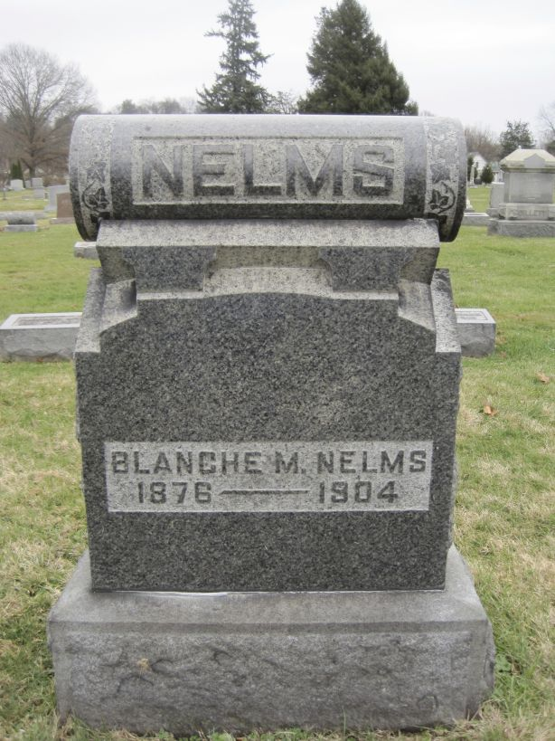 Blanche Nelms screamed for ten days