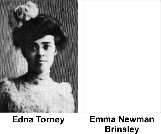 Edna Torney and Emma Brinsley Iroquois Theater victims