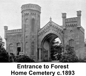 Chicago Forest Home Cemetery