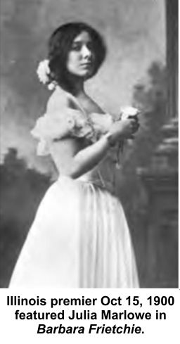 Julia Marlowe in Barbara Frietchie