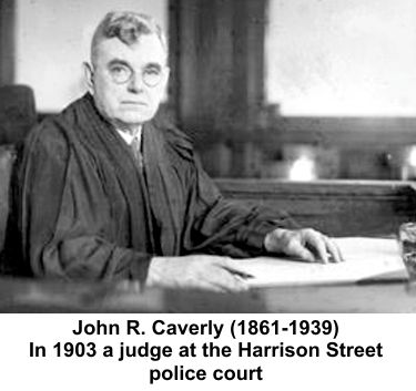 John Caverly presided over initial arrests to gather information