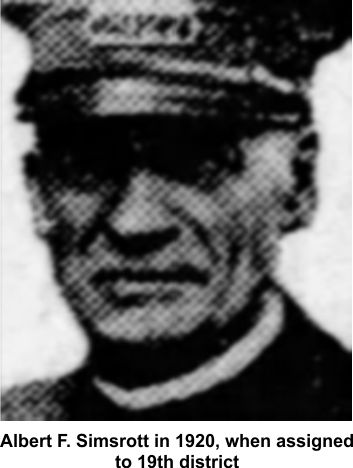 Chicago police officer Albert F. Simsrott
