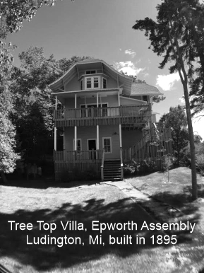 Cooper family's Tree Top Villa Epworth Assembly Ludington, MI