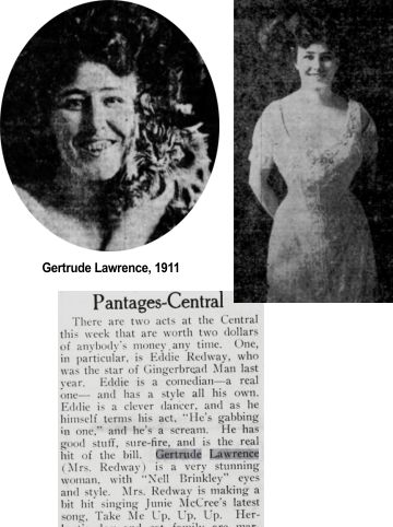 Gertrude Lawrence raised purebred cats