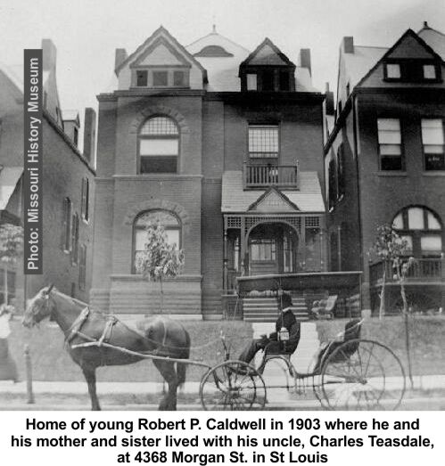 Robert Caldwells home in St Louis