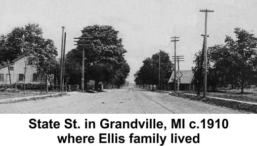 State street in Grandville Michigan c1910