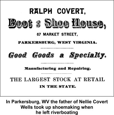 Nellie's father became a shoe manufacturer