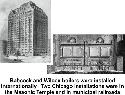 Babcock and Wilcox was the Wells family business
