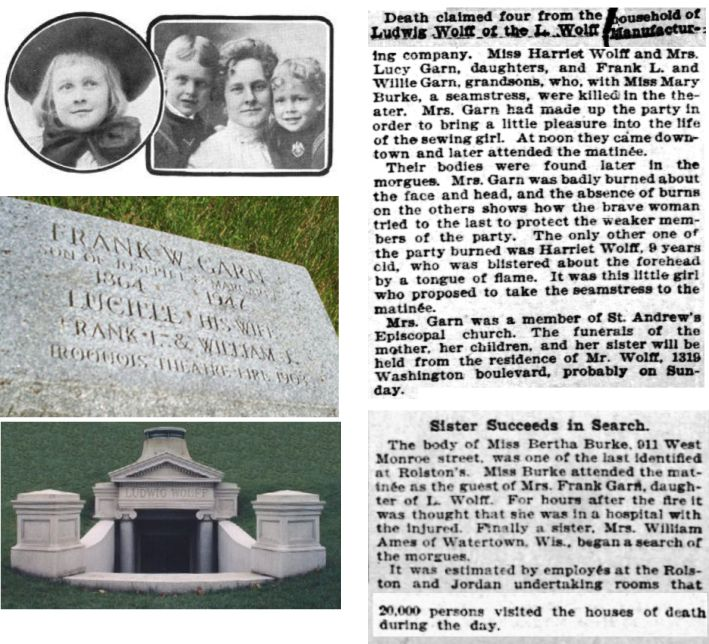 Lucy Garn and her sons and sister were Iroquois victims