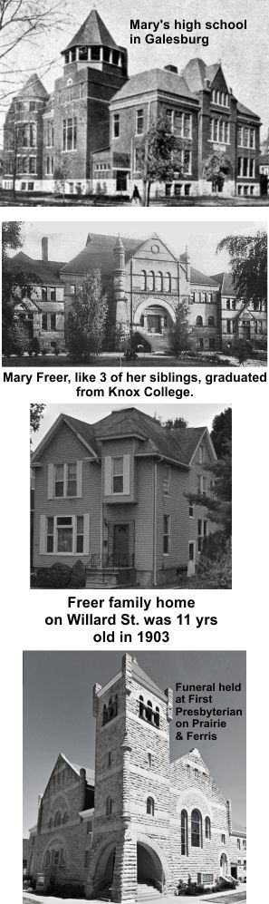 The Freer family were Galesburg through and through