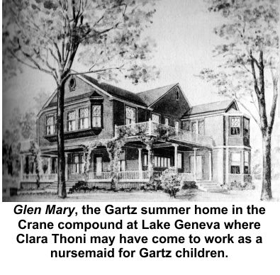 Gartz home on Lake Geneva in Crane compound