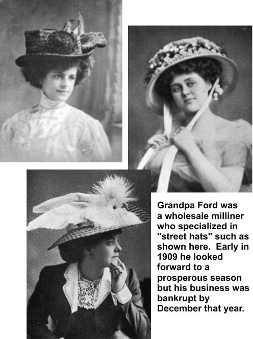 William M. Ford was a wholesale milliner