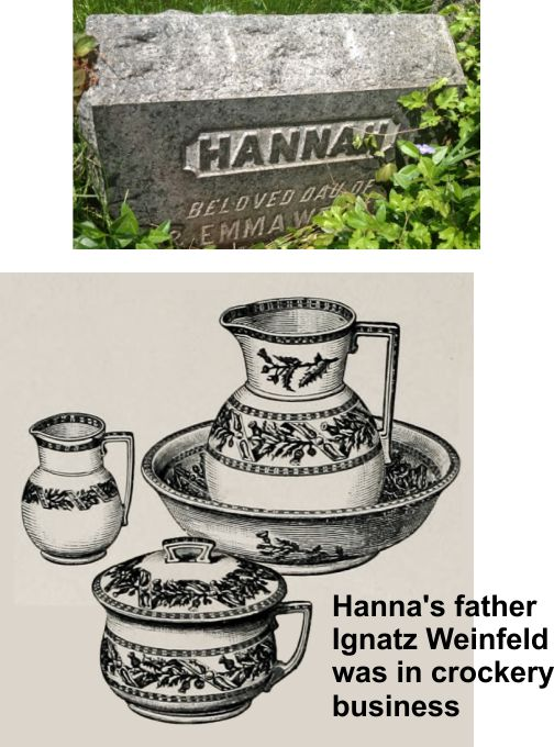 Hannah was the first born daughter