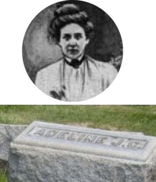 Adeline Hoffeins Drummond school teacher who died in 19093 Iroquois theater fire