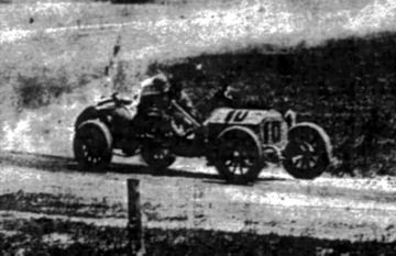 Cobe Trophy Cup auto race in Crown Point, Indiana 1909