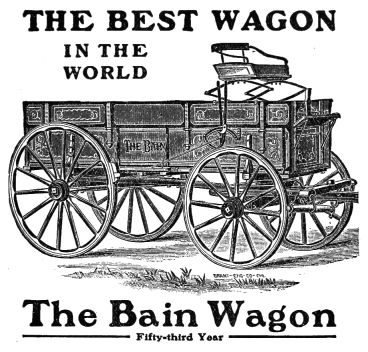 Bain Wagon best in the world