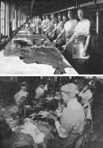 Tanning leather was Allen family business