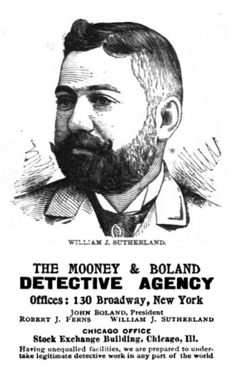 Mooney & Borland private detective agency