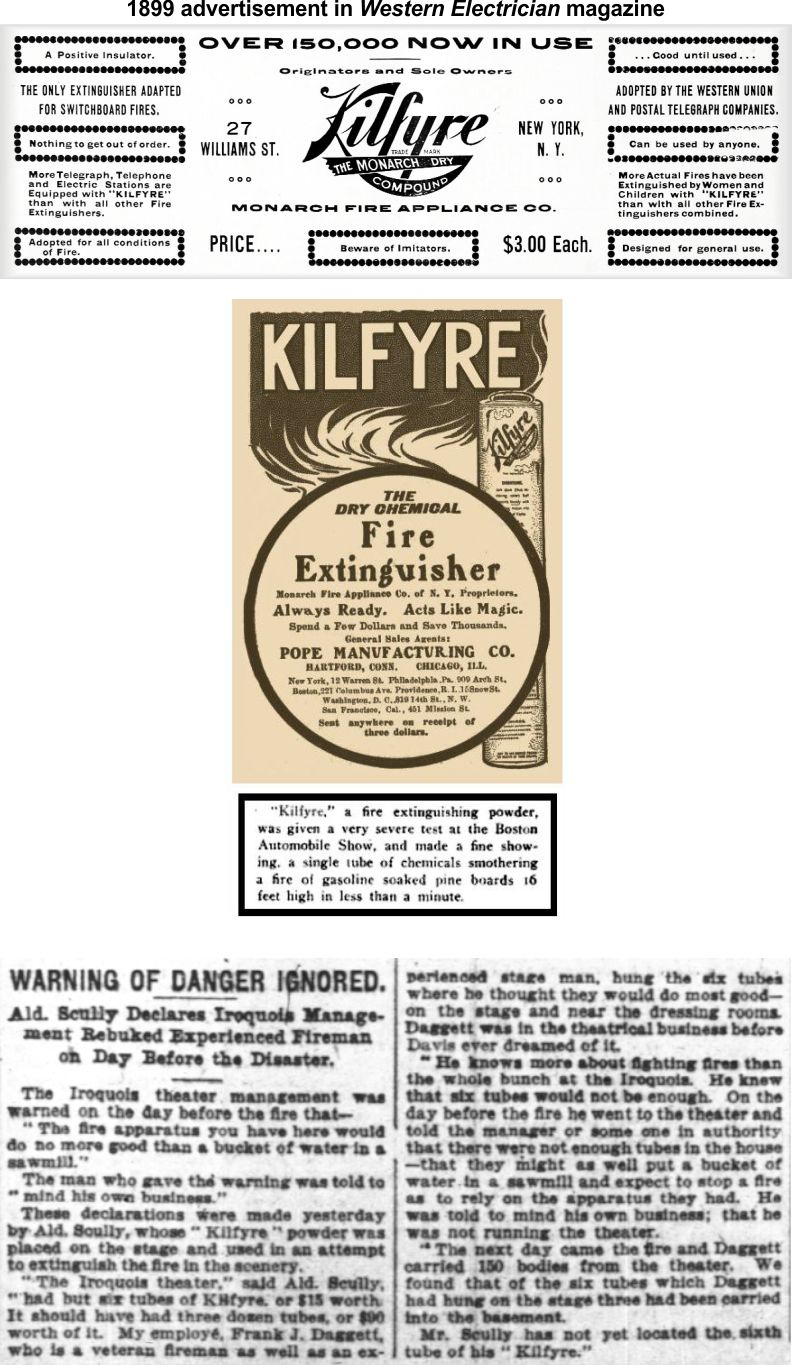 Kilfyre might have put out fire in kitchen skillet