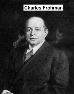 Charles Frohman of theatrical syndicate