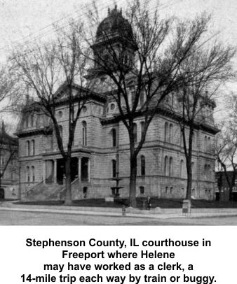 Stephenson County courthouse in Freeport IL
