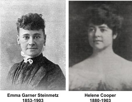 Helenes mother Elma Steinmetz Cooper was a milliner