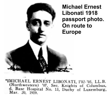 Michael Libonati lost his life during World War I