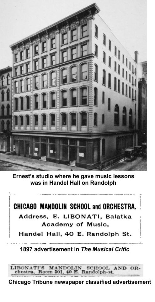 Ernest Libonati gave music his all