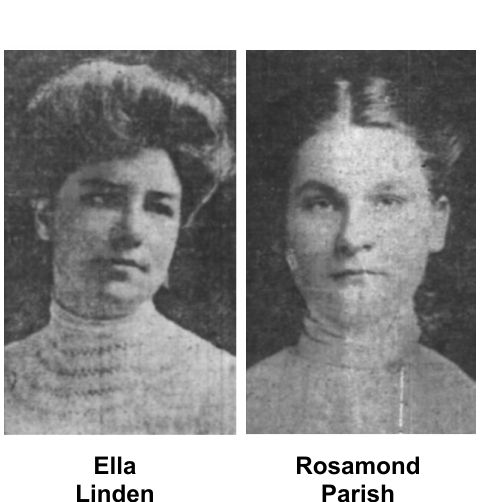 Eleanor Linden and Rosamond Parish were Hyde Park girls