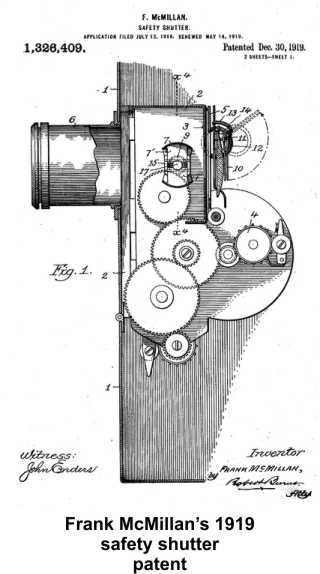 Frank McMillan was still inventing in 1919.