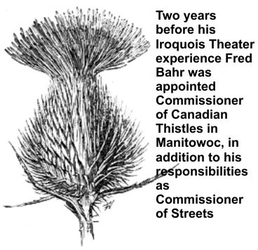 Fred was the Canadian Thistle Commissioner in Manitowoc