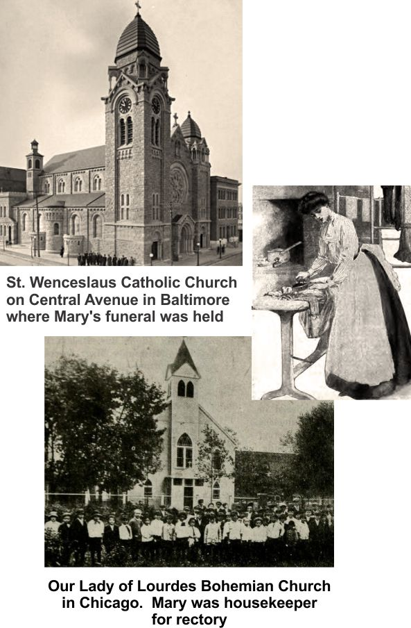 Mary was the daughter of Joseph and Barbara Neumann in Baltimore
