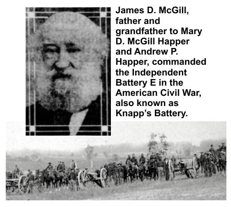 Loved ones of Civil War veteran James McGibb were spared