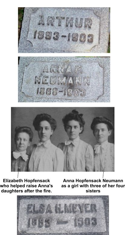 Two daughters were left to August Neumann