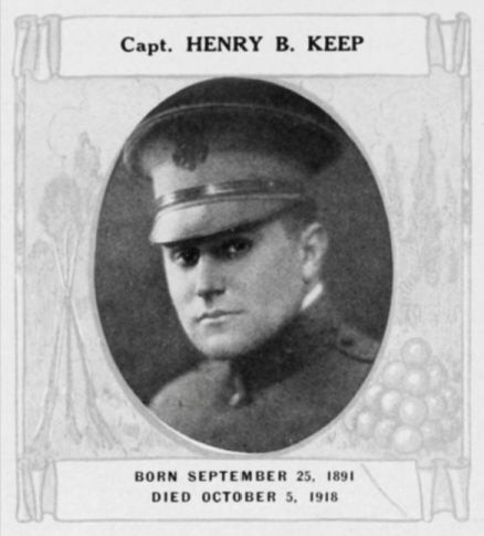 Henry B. Keep survived Iroquois Theater fire but not war