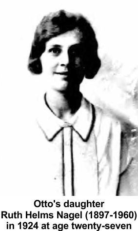 Otto Helms daughter Ruth Helms Nagel