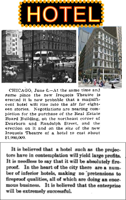Klaw and Erlanger would have replaced Delaware Building with a hotel