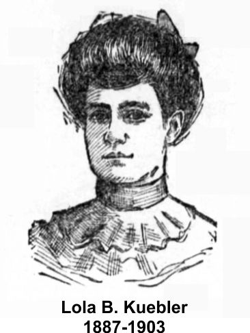 Lola Kuebler lost her life at the Iroquois Theater fire