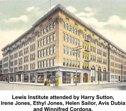Most were students at Lewis Institute
