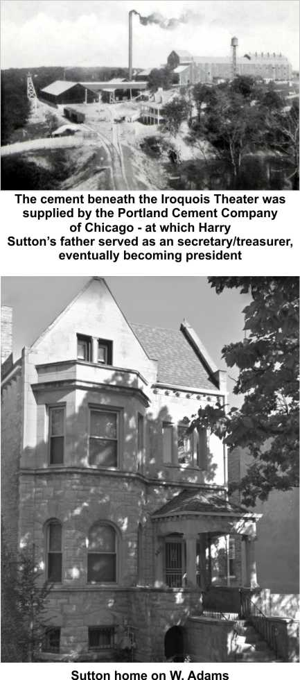 Harry Sutton's father was in cement