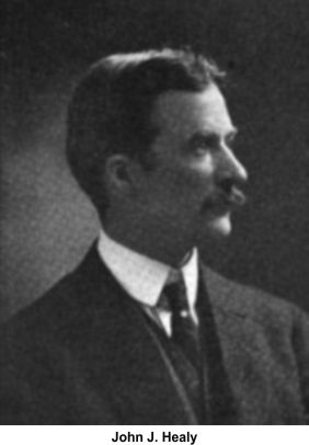 John J. Healy represented the state in Iroquois Theater trials