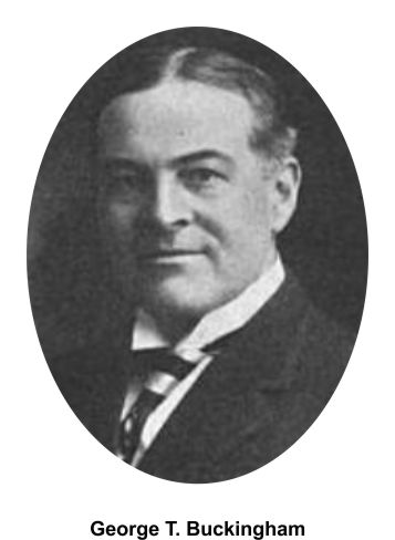 George T. Buckingham was part of the prosecution team in Iroquois trials